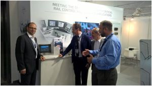 Kontron booth at InnoTrans 2016