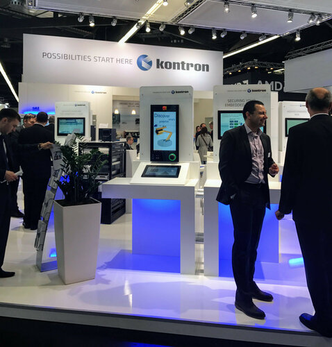Kontron booth at embedded world 2017