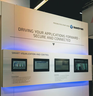 Kontron FusionClient and Fusion View HMI