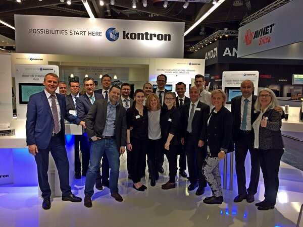 Kontron embedded world 2017 exhibition team