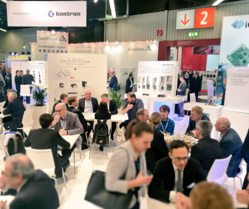 More than 1,000 exhibitors and 32,000 industry visitors again found their way to Nuremberg. There was a full house at the Kontron booth