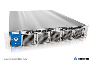 Kontron launches the SYMKLOUD MS2900 Media  platform for cloud transcoding