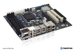 New Kontron embedded motherboard supports  3rd generation Intel® Core™ processors