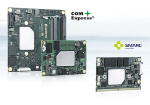 Kontron COM Express® and SMARC module with next generation low-power Intel Atom processors