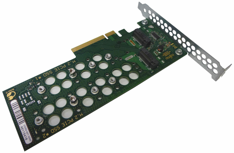 Dual M.2 Carrier Board